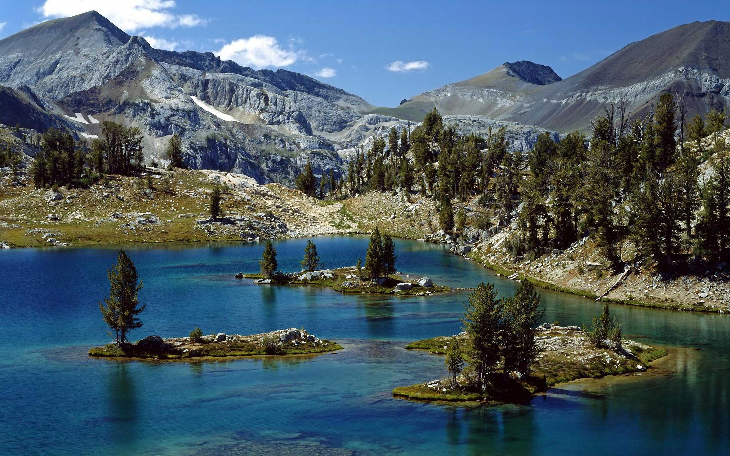 Glacier Lake, Wallowa-Whitman National Forest, Eagle Cap Wilderness Area, Oregon
