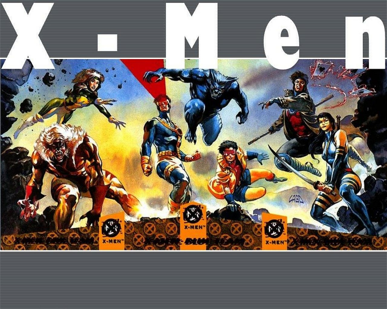 X-Men Blue Team