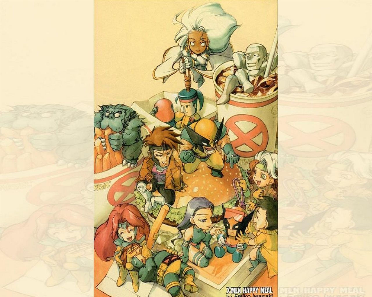 X-Men Happy Meal