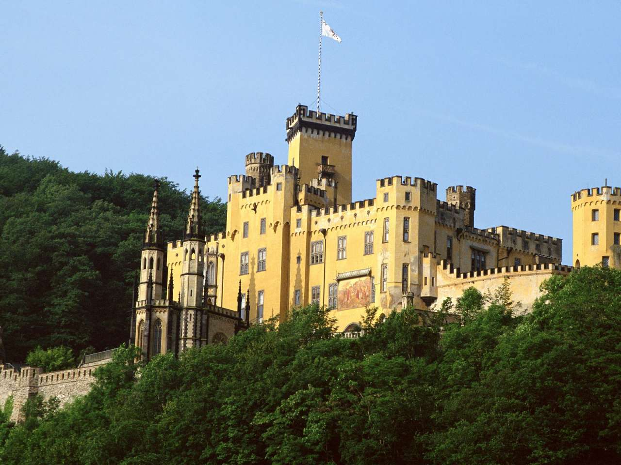 Stolzenfels Castle, Near Koblenz, Germany