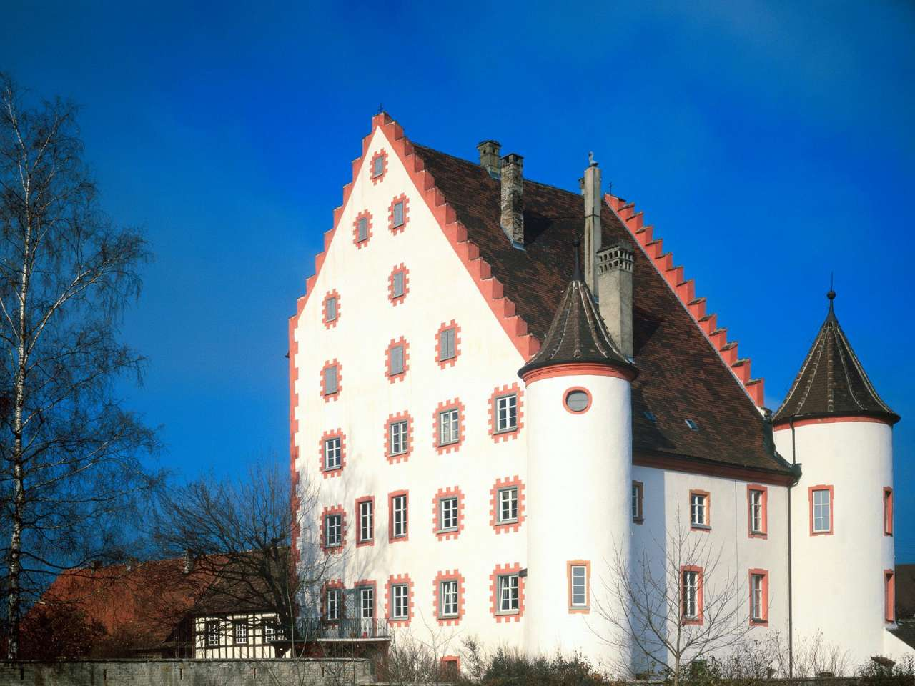 Wolfsegg Castle, Bavaria, Germany