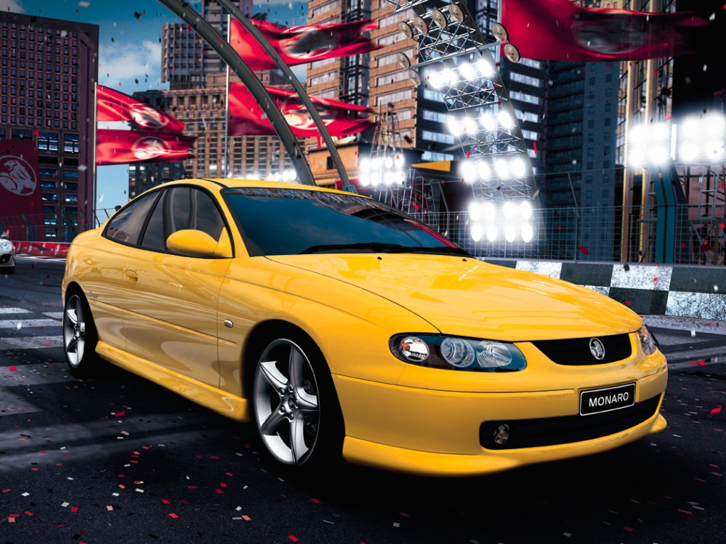Holden Monaro Game Over