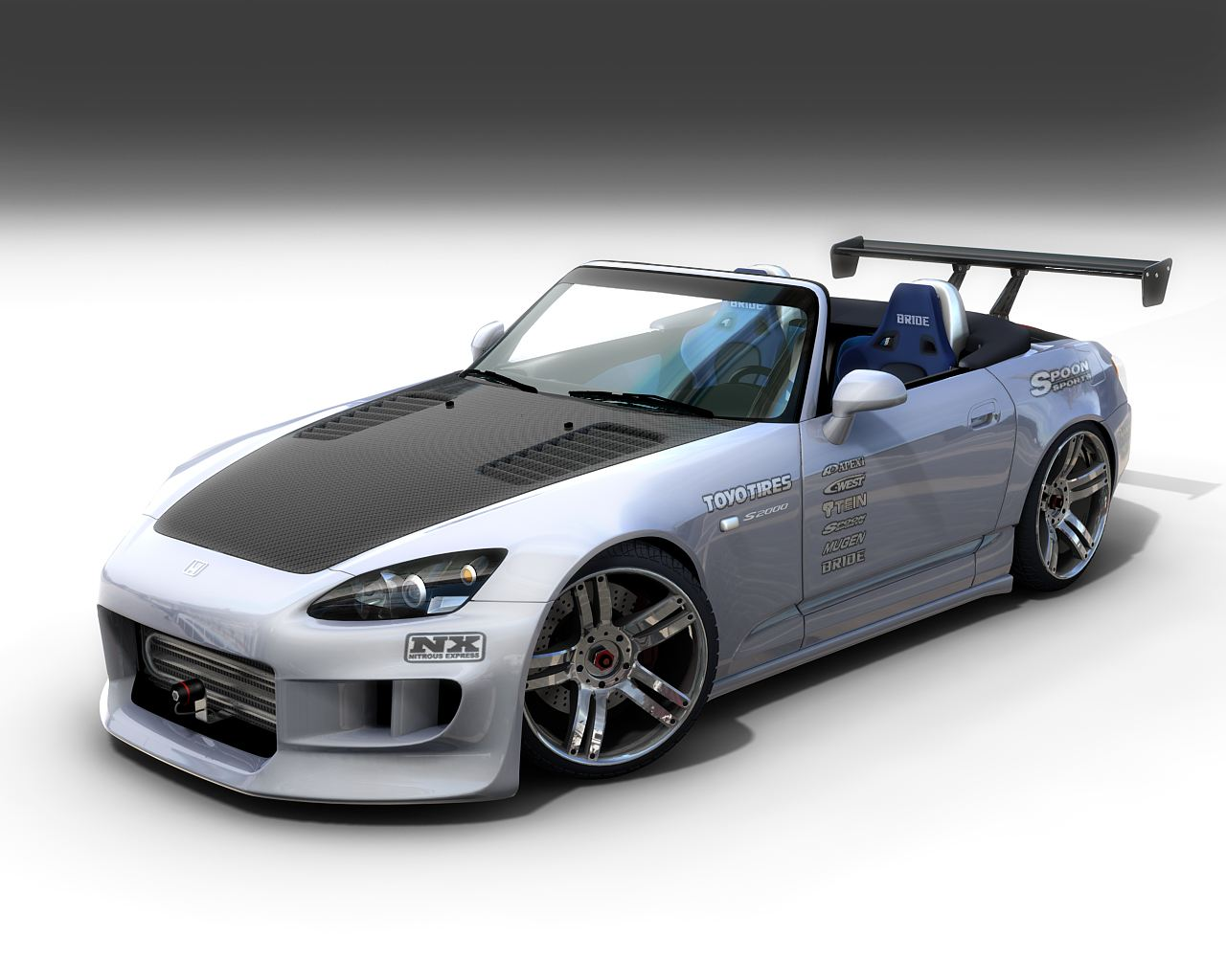 Honda S2000 Custom Front View