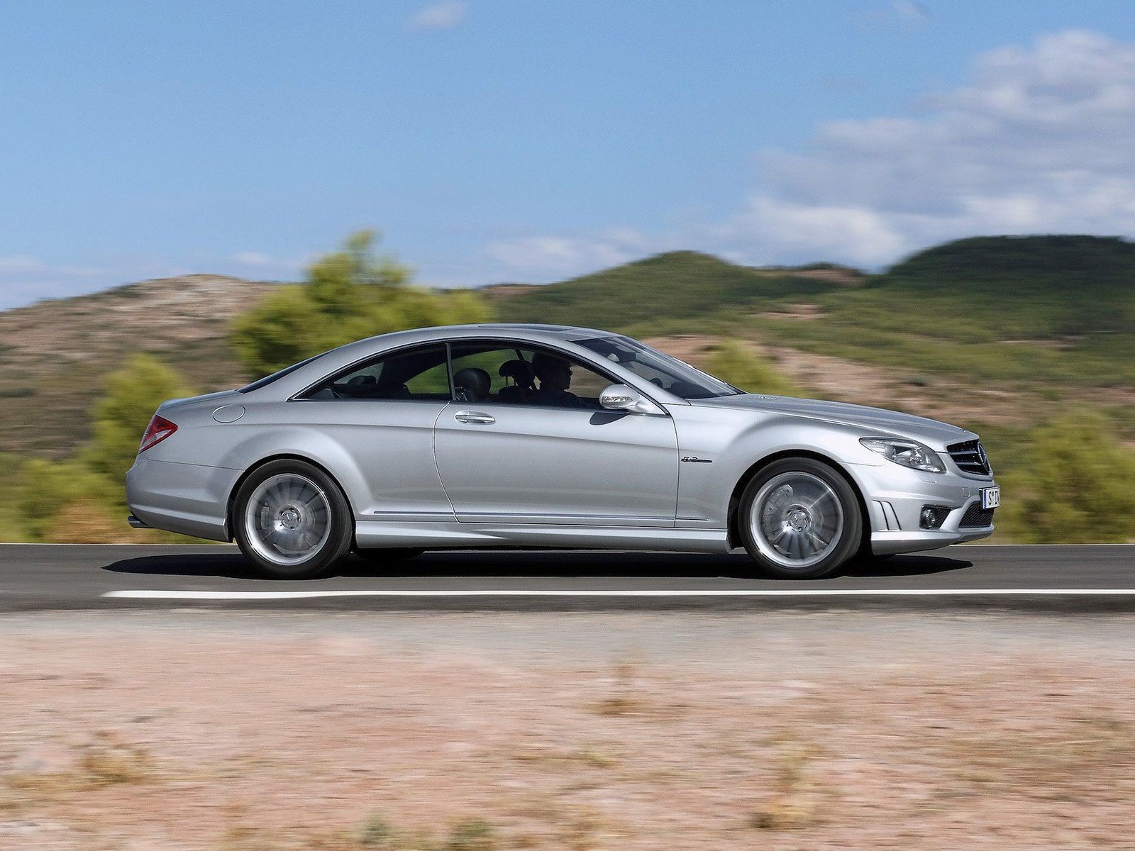 2007 Mercedes Benz CL 63 AMG 8
