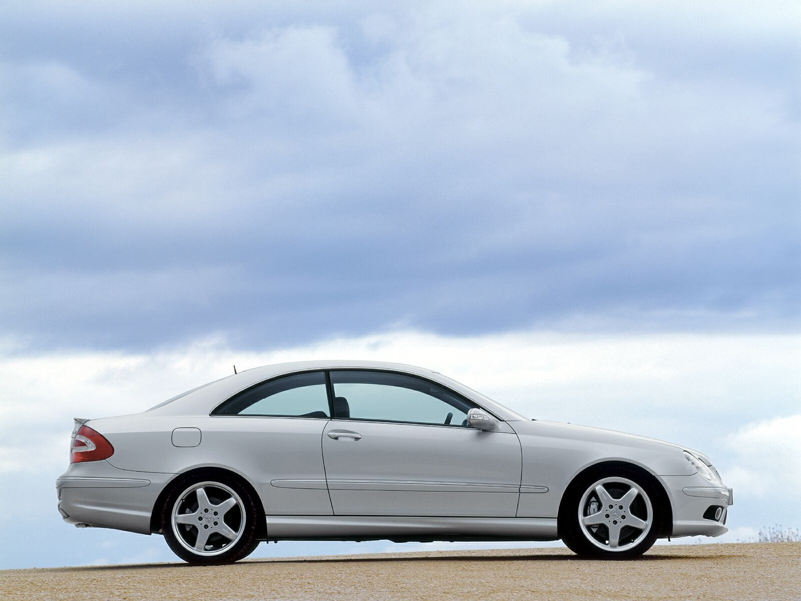 Mercedes Benz CLK 55 6