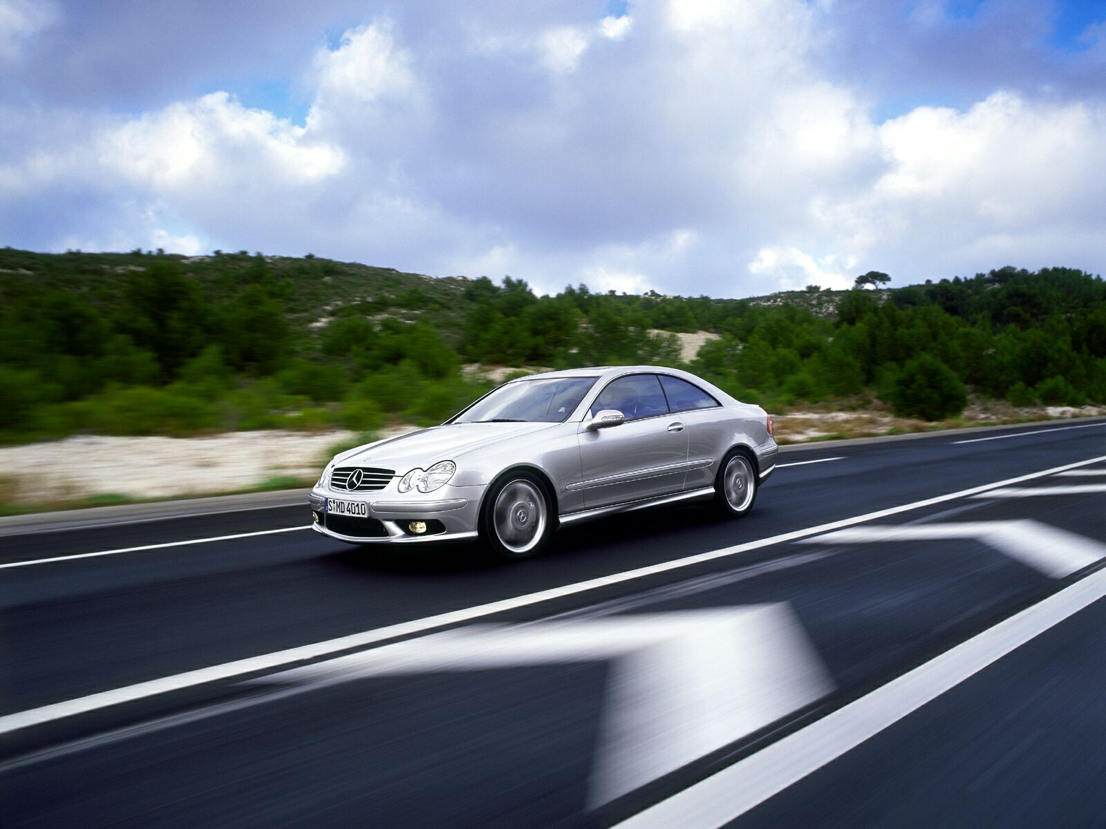 Mercedes Benz CLK 55 7