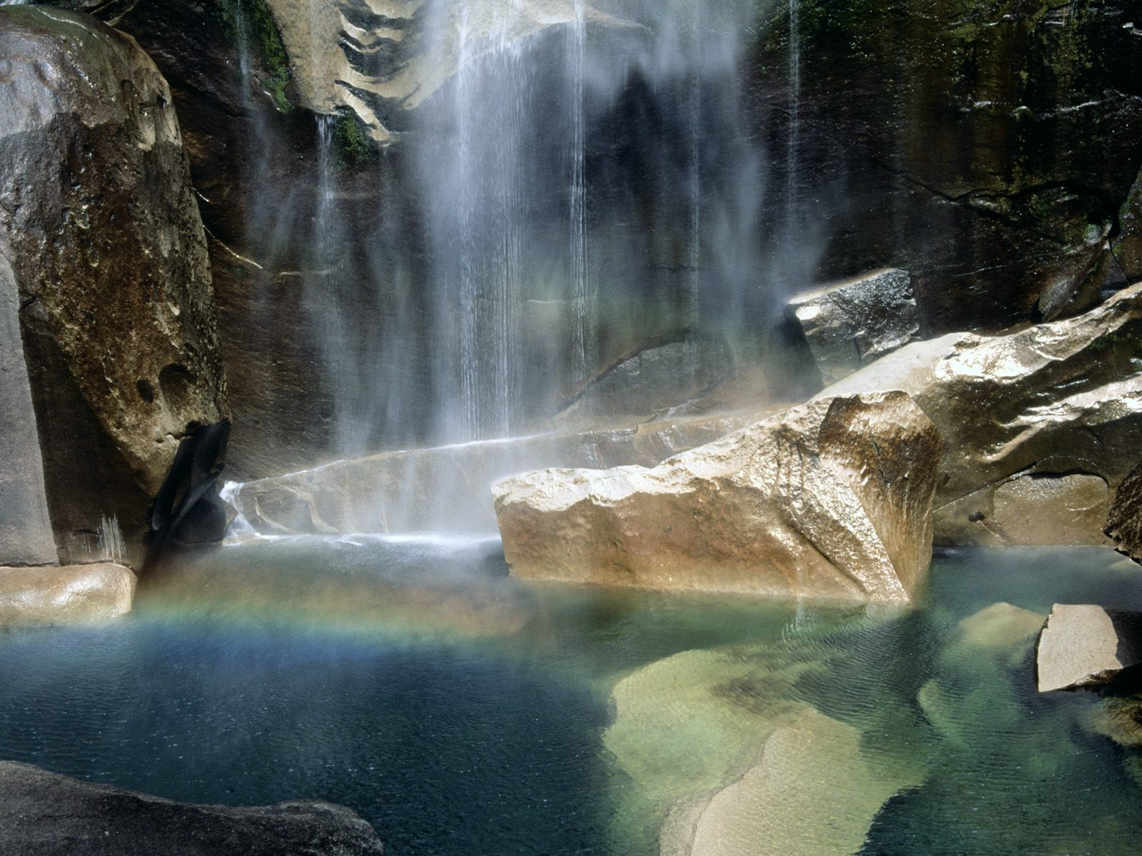 Natural Phenomenon, Vernal Falls, Yosemite, Cali