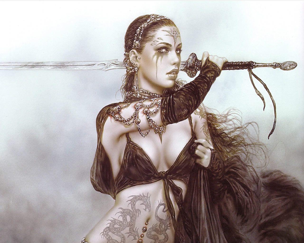 Luis Royo wallpaper 90